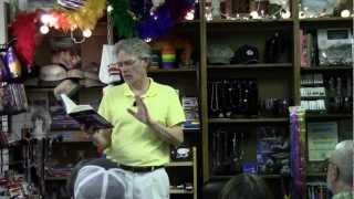 Epic Poetry Reading, Frederick Glaysher, Austin, Texas, BookWoman