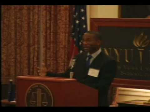 """Law, Lawyers, and Global Development: Can Lawyers Change the World?"" NYU Law professor Kevin Davis"