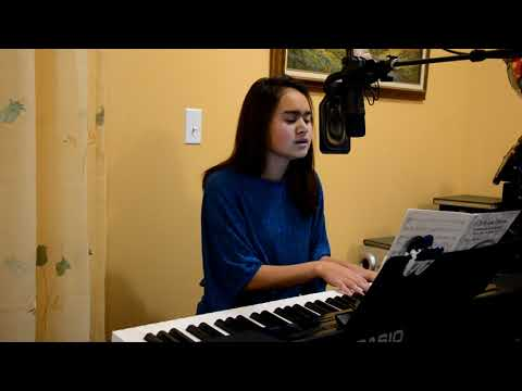 Blue Christmas, piano cover by Chelewynne