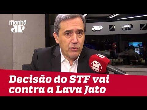 Decisão do STF vai contra a Lava Jato e gerará impunidade   #MarcoAntonioVilla
