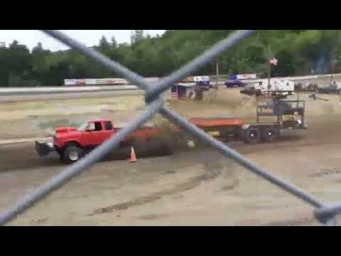 Chase pulling ranger at legion speedway