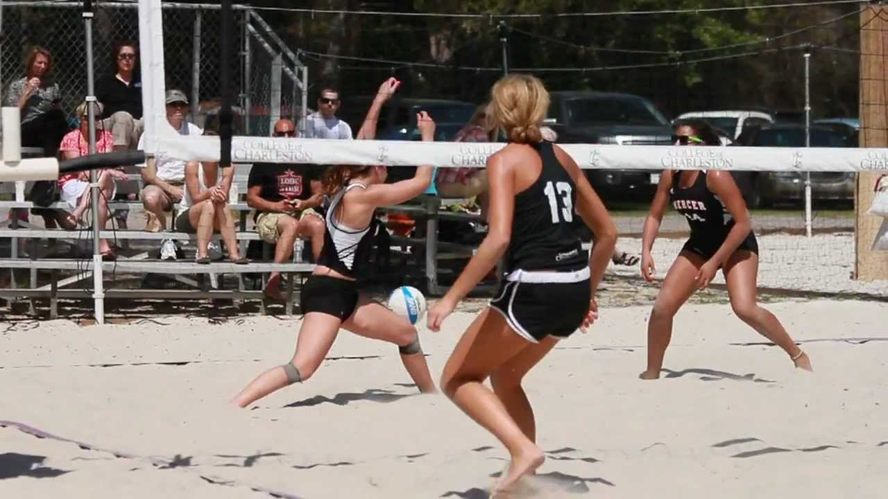 Sand Volleyball Selected For Inaugural Avca National Championships College Of Charleston Cougars Youtube