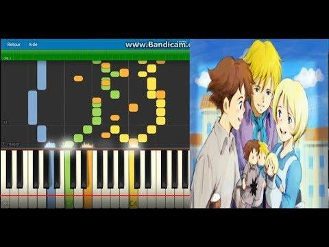 Romeo no Aoi Sora  - MIDI اغنية عهد الاصدقاء