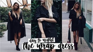 Day To Night: The Wrap Dress | Copper Garden
