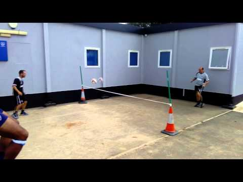 3rd Eye: Leam Richardson v Paul Cook: Football tennis
