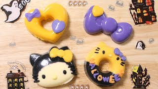 Hello Kitty's No-Bake Doughnuts for Halloween 【Cooking Toy】