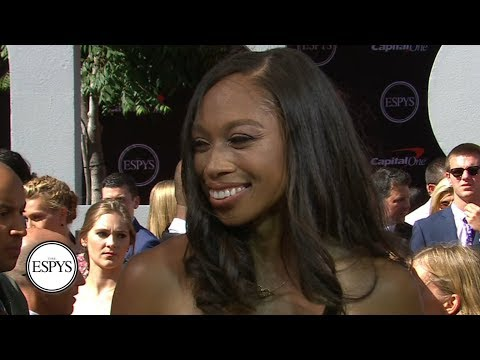 Allyson Felix is a big fan of Serena Williams' documentary | 2019 ESPYS