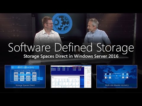 Software Defined Storage with Storage Spaces Direct in Windows Server 2016