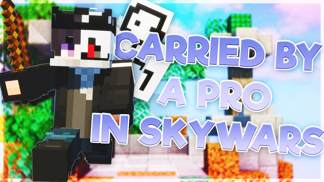 Getting CARRIED by the SWEATIEST Hypixel Skywars player!