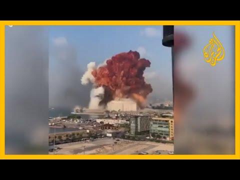 ???? من عدة زوايا.. شاهد لحظة انفجار بيروت الهائل  - نشر قبل 7 ساعة