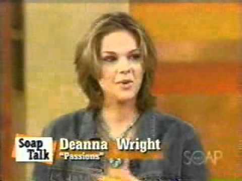 Passions: Deanna Wright (Kay Bennett) on soap talk - YouTube
