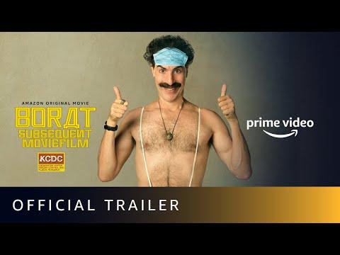 Borat: Subsequent Moviefilm - Official Trailer 2020 | Sacha Baron Cohen | Amazon Prime Video