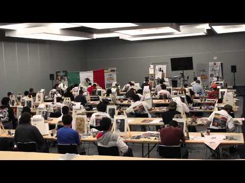 Seminario de Aerografia Airbrush Seminar Airbrush Artists Jose Sanjuán Craig Fraser Cory Saint Clair