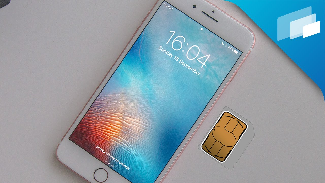 Iphone 7 How To Insert Sim