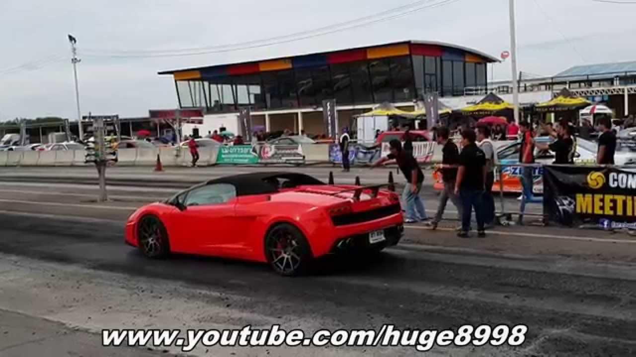 Lamborghini quarter mile