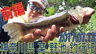 神奈川県 某 野池 ブラックバス釣り 2017.07.13 前編 thumbnail