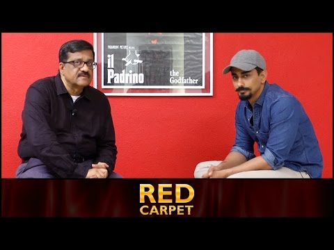I'm not an idiot to compared with a poor Theatre Artist: Siddharth | Red Carpet by Sreedhar Pillai