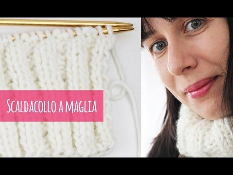 stilista scarpe originali negozio outlet Come fare uno scaldacollo a maglia (con spiegazioni chiare) - YouTube