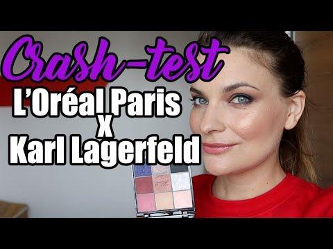 Crash Test Collection L'Oréal Paris X Karl Lagerfeld