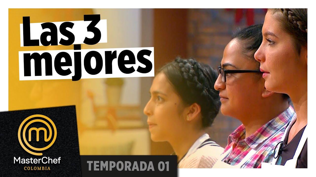 Las tres mejores van por la prueba de inmunidad | MEJOR PLATO | TEMPORADA 1 | MASTERCHEF COLOMBIA