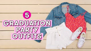 5 Cute Graduation Party Outfits   Style Lab