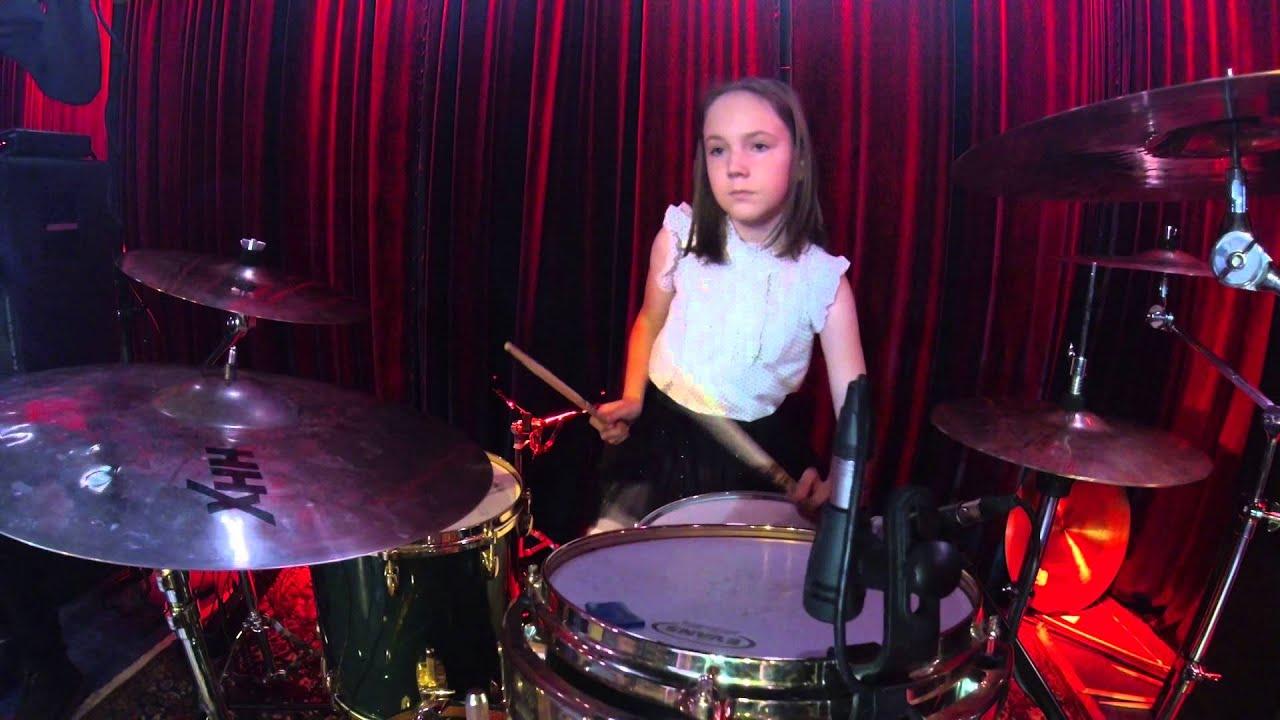 Happy and julia ciesielska on drums youtube - Zz top la grange drum cover ...