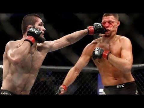 KHABIB NURMAGOMEDOV VS NATE DIAZ FIGHT   Khabib Vs Nate Diaz Fight Ufc  