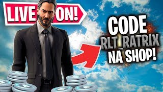 🔴 SORTEIO V-BUCKS AO VIVO 🔴 LIVESTREAM FORTNITE [PT/BR] 🔥 IKONIK 30€ 🔥WONDER 60€ 🔥