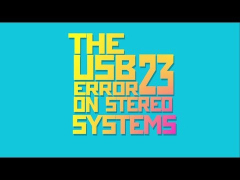 Fix USB Error 23
