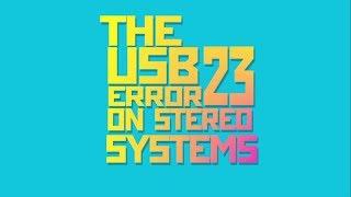 Fix USB Error 23