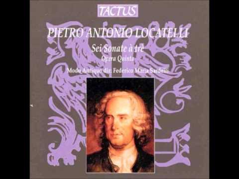Locatelli Trio Sonatas op 5
