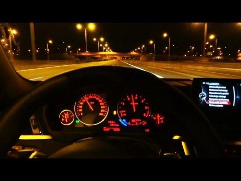 2016 BMW 4 Series 430d xDrive Night Driving LED Lights Test Drive Jazda Próbna Testowa PL