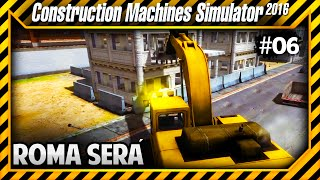 Construction Machines Simulator 2016 - Destruindo Roma!!! Será