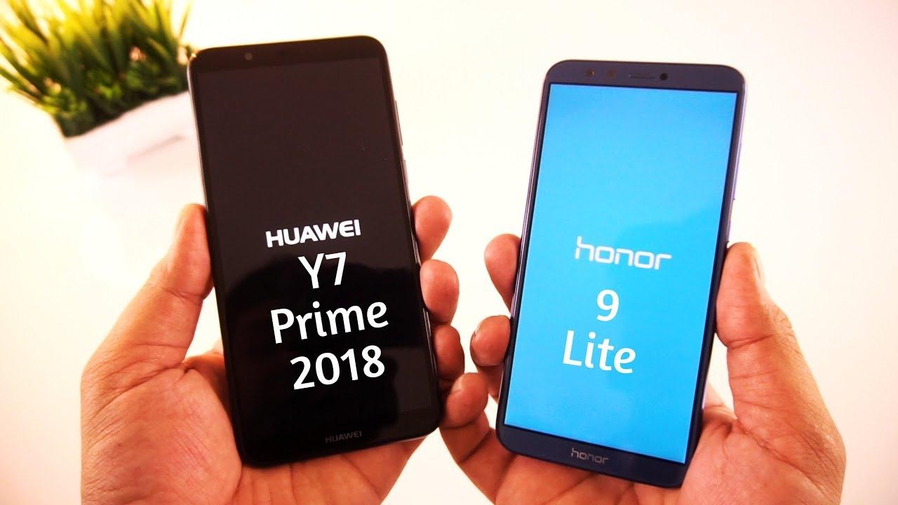 Huawei Y7 Prime (2018) vs Honor 9 Lite Showdown [Urdu/Hindi]