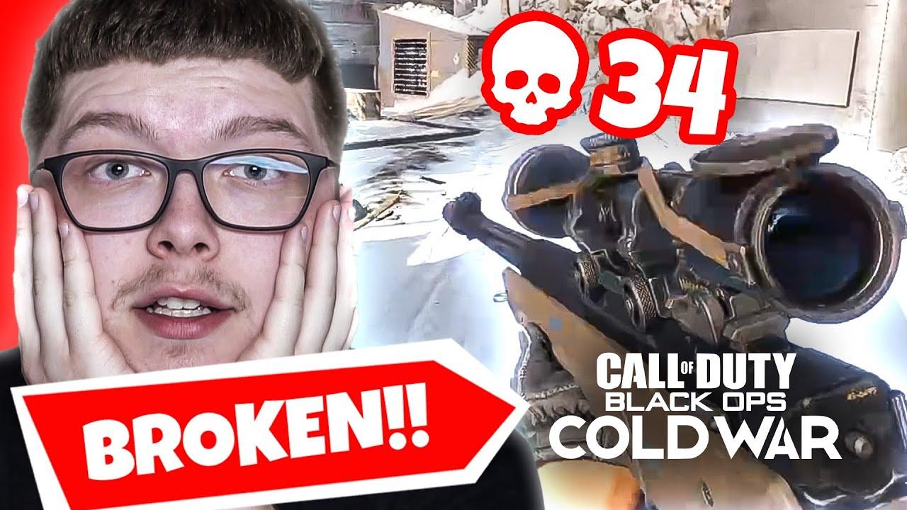 This L115 Is Broken In Black Ops Cold War Aydan V S Cod Youtubers Fortnitebr News Latest Fortnite News Leaks Updates