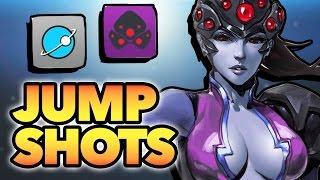 Top 50 JUMP SHOTS - Overwatch Montage
