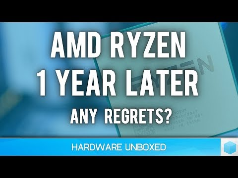 12 Months With RYZEN, Thoughts From An Early Adopter