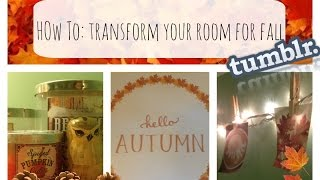DIY: Fall Room Decor & How To Transform Your Room Thumbnail
