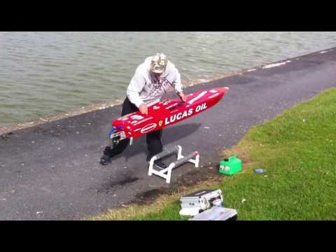 70inch Outerlimits RC Offshore Racing Boat ~ GTX Hull ~ RC Boat ~ RC Speedboat