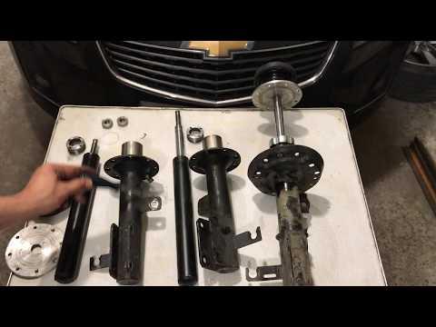 Анти-обзор пневмо-стоек Chevrolet Cruze