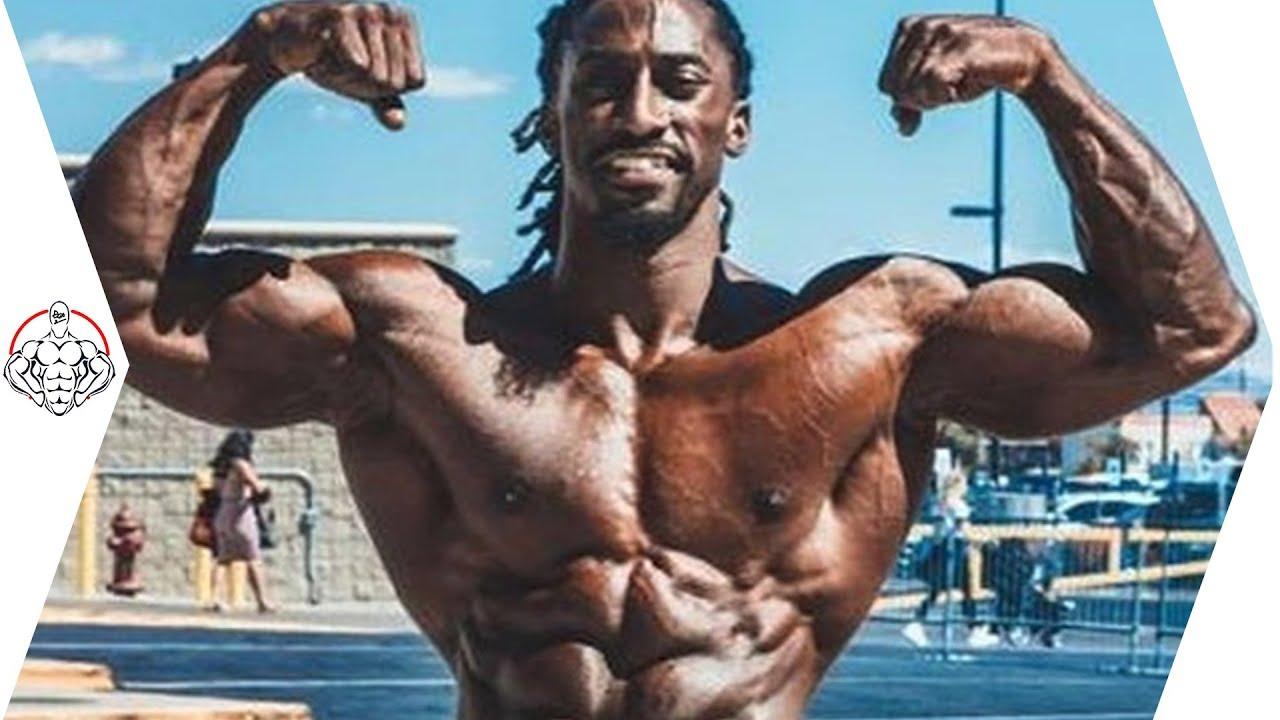 筋肉の怪物。Akeemsupremeのパワーと筋肉【筋トレ】