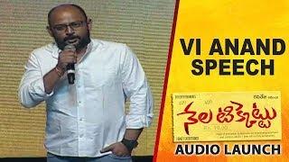 Vi Anand Speech At Nela Ticket Movie Audio Launch