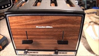 Fixing an Older Proctor Silex Toaster T009B