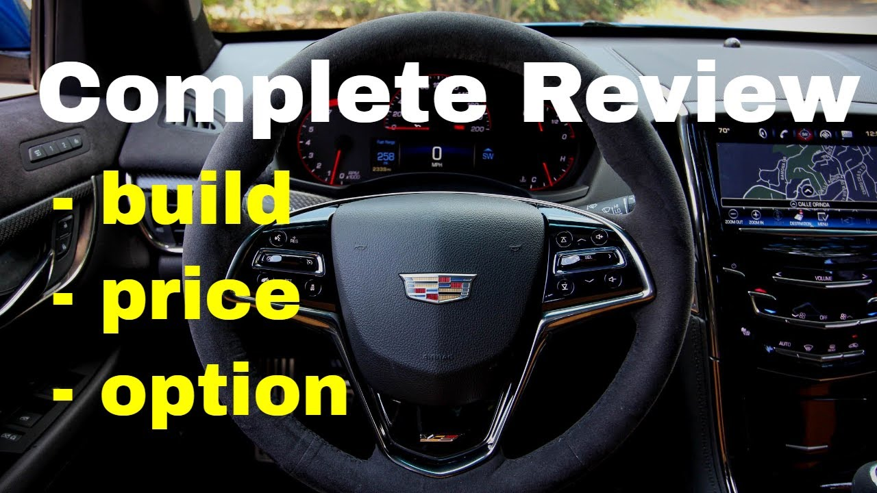 2018 Cadillac Ats V Coupe Build Price Review See Specs