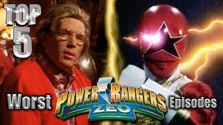 Top 5 Worst Power Rangers Zeo Episodes