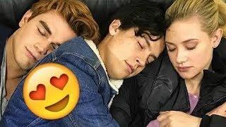 Cole & Lili & KJ Apa & Camila 😍😍😍 - CUTE AND FUNNY MOMENTS (Riverdale 2018)