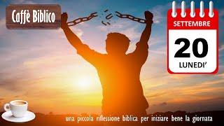 VERITA' CHE LIBERA  Caffè Biblico del 20.9.2021 screenshot 3