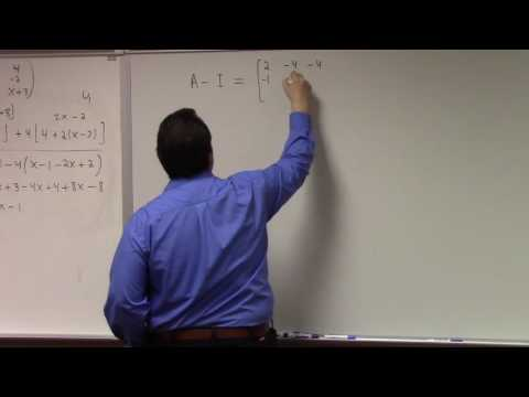 Abstract Algebra II: rational and Jordan form of matrix, 4-14-17