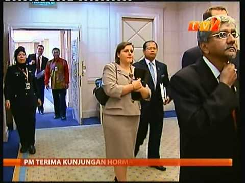RTM@2 Deputy Secretary of State William J.Burns meets Prime Minister Najib