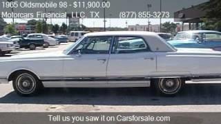 1965 Oldsmobile 98 ForSale Sedan for sale in Headquarters in